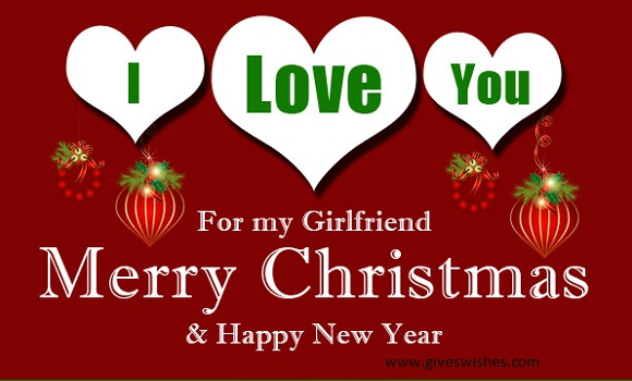 Adorable Christmas Message For Cute Girlfriend