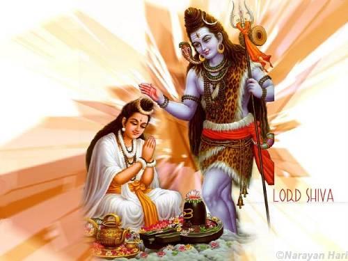 Lord Shiva & Parvathi 7