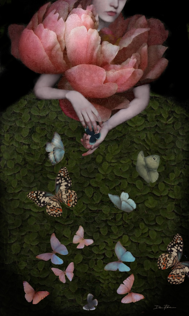 09-Hunter-Butterflies-Daria-Petrilli-Photograph-Collage-to-Produce-Surrealism-www-designstack-co