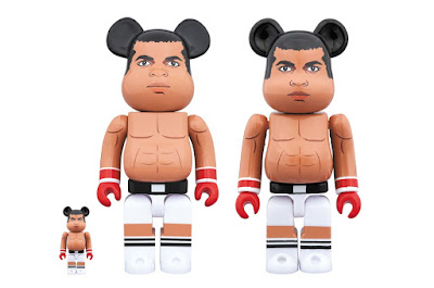 Muhammad Ali 400% & 100% Be@rbrick Vinyl Figure Box Set by Medicom Toy