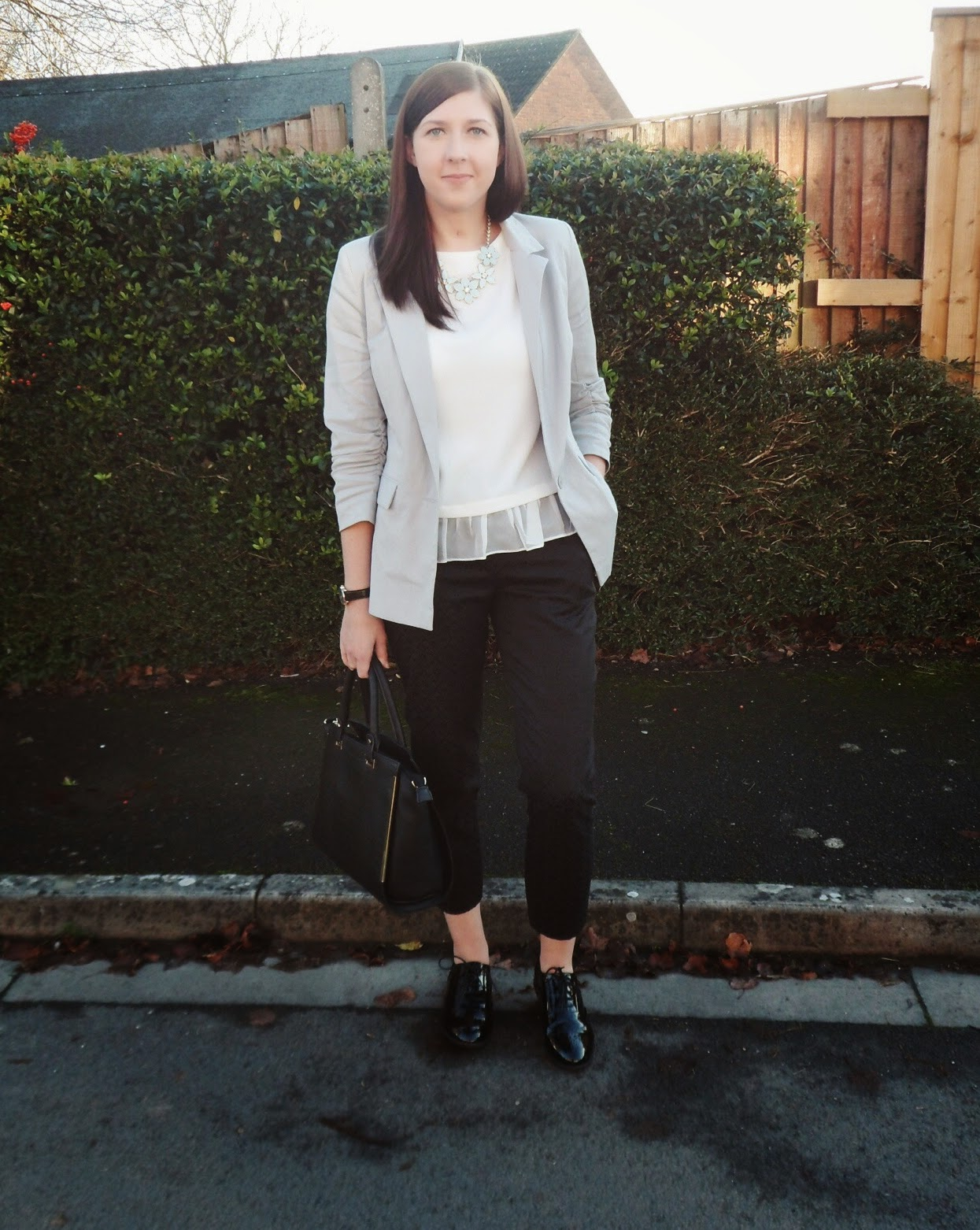 asseenonme, fbloggers, fblogger, fashionbloggers, topshop, primark, ASOS, wiw, whatimwearing, whatibought, lotd, lookoftheday, ootd, outfitoftheday, workwear, monochrome, fashion