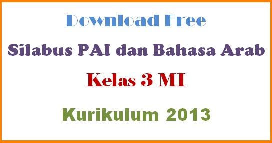 Free Silabus Pai Dan Bahasa Arab K13 Kelas 3 Mi Documen Guru