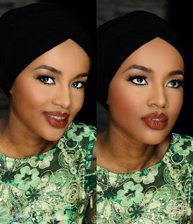 Hanan Buhari stuns in New Make-up photos