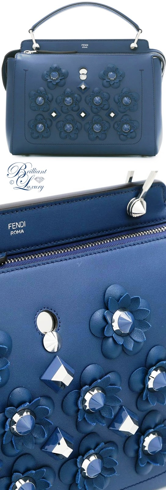 Brilliant Luxury ♦ Fendi Dotcom With Flowerland Flowers