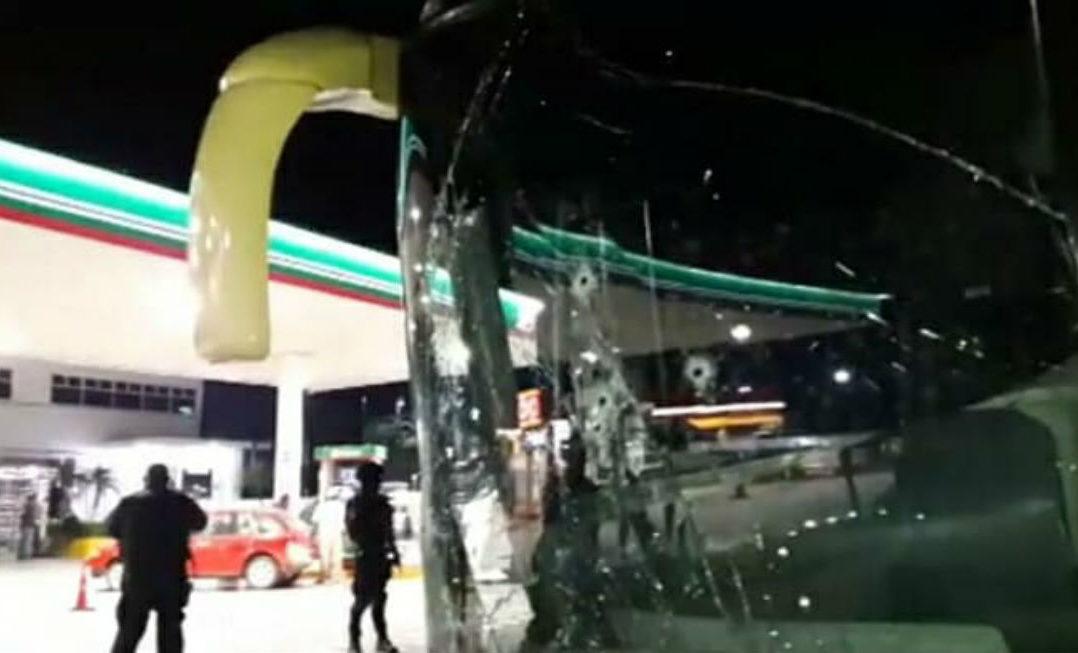 Ataque armado a autobús que se dirigía a Acapulco deja cuatro heridos