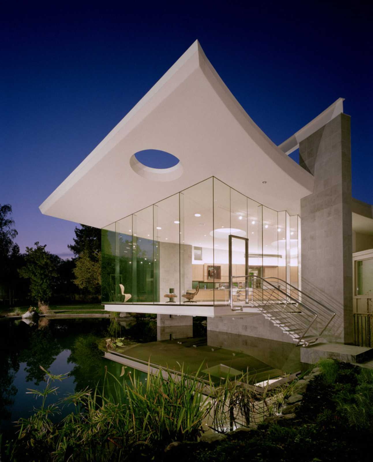 Exterior House Patterns: LAKESIDE STUDIO BY MARK DZIEWULSKI ARCHITECT