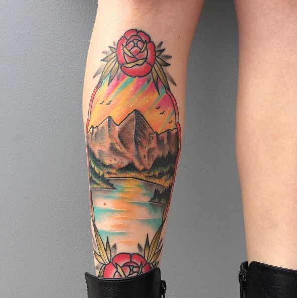 Landscape Tattoos