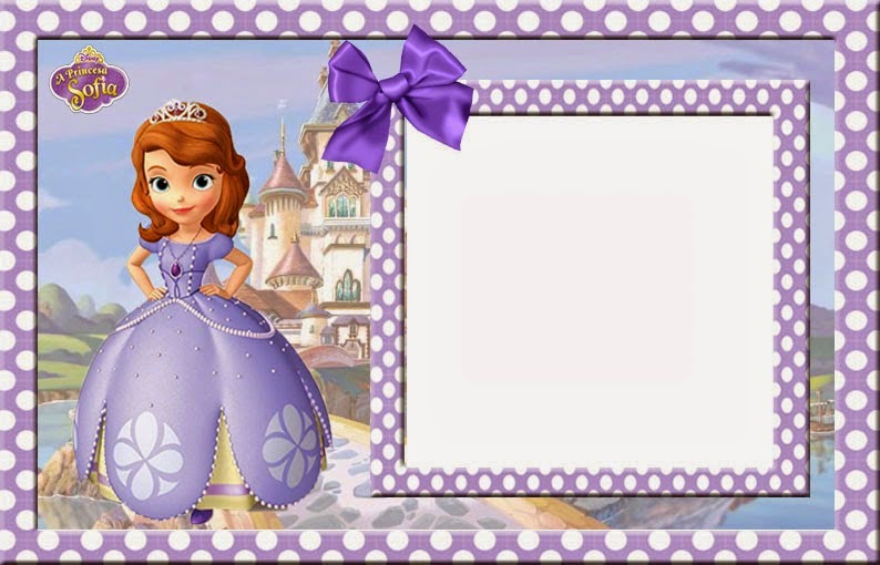 sofia the first crown template - lindas invitaciones de princesa sofia para imprimir gratis