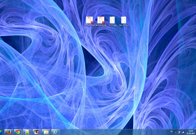 masa üstü ekran görüntüsü