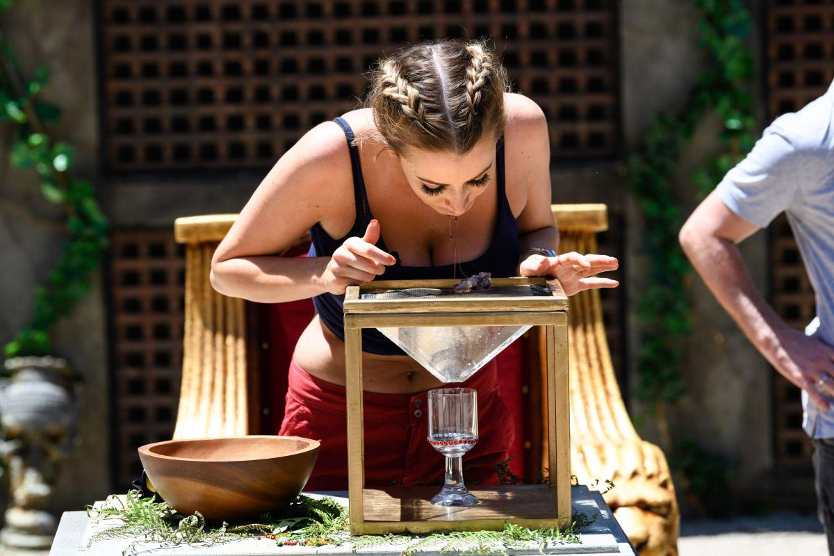 Olivia Attwood at ITV2 Extra Camp Bushtucker Trial Nero to Zero in Australia 11/24/2018