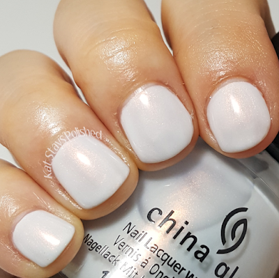 China Glaze Seas and Greetings - Snow Way! | Kat Stays Polished