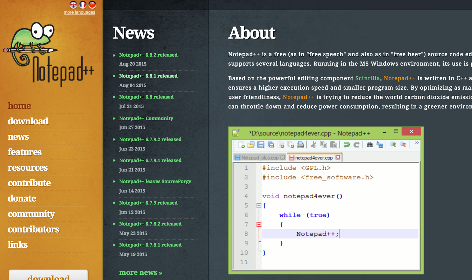 top 10 simple source code editors