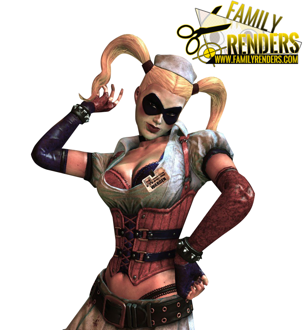 RENDER Harley quinn