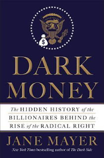 Book cover for Dark Money by Jane Mayer