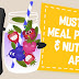 Top 11 Best Meal Planning, Nutrition and Diet Apps for Android / iOS - Infographic