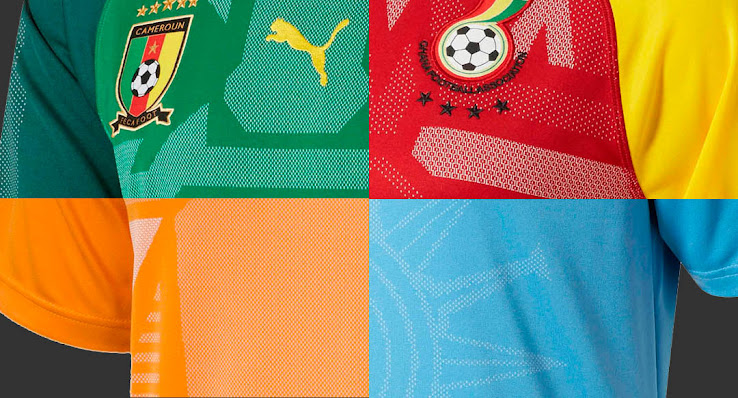 7677cbb3f ... teams have still the chance to qualify for the World Cup (Ivory Coast,  Italy, Switzerland). All Puma 2018 home jerseys are set for release next  week.