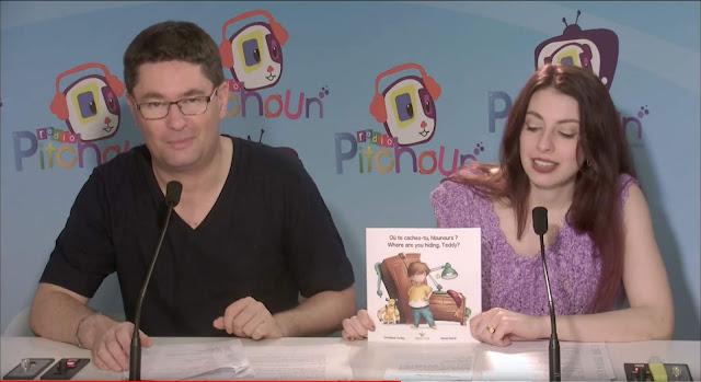 On parle de mon livre sur TV-RADIO PITCHOUN !