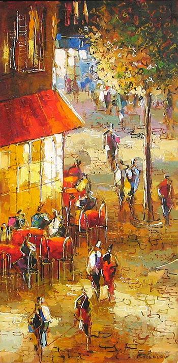 "Ukrainian Artist -""Michael Rozenvain"" 1963"