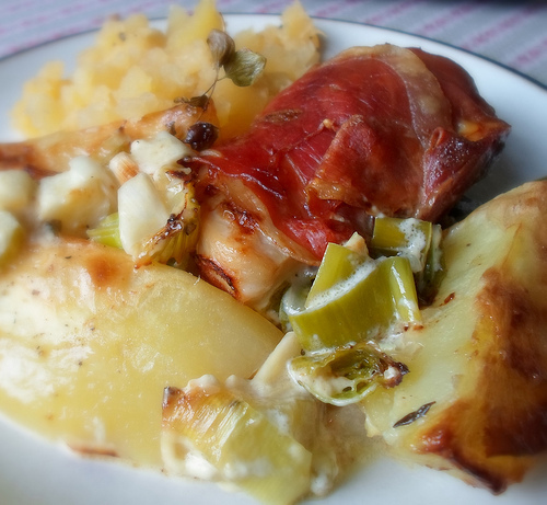 Parma Chicken & Vegetable Bake