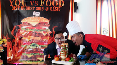 'You vs Food' Competition at Oasis Restaurant, Thistle Johor Bahru