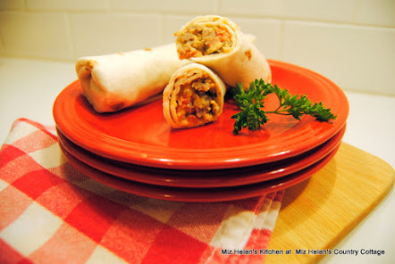 Tex Mex Breakfast Burrito