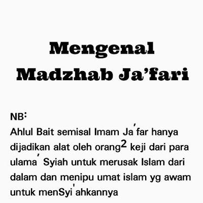 Syiah Sok Imamiyah, Nyatanya Tidaklah Imamiyah