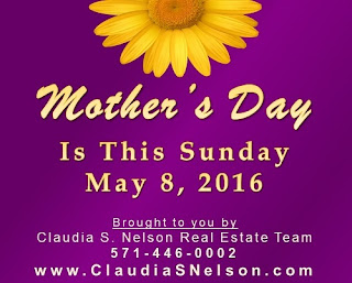 Mother's Day is This Sunday, May 8 2016