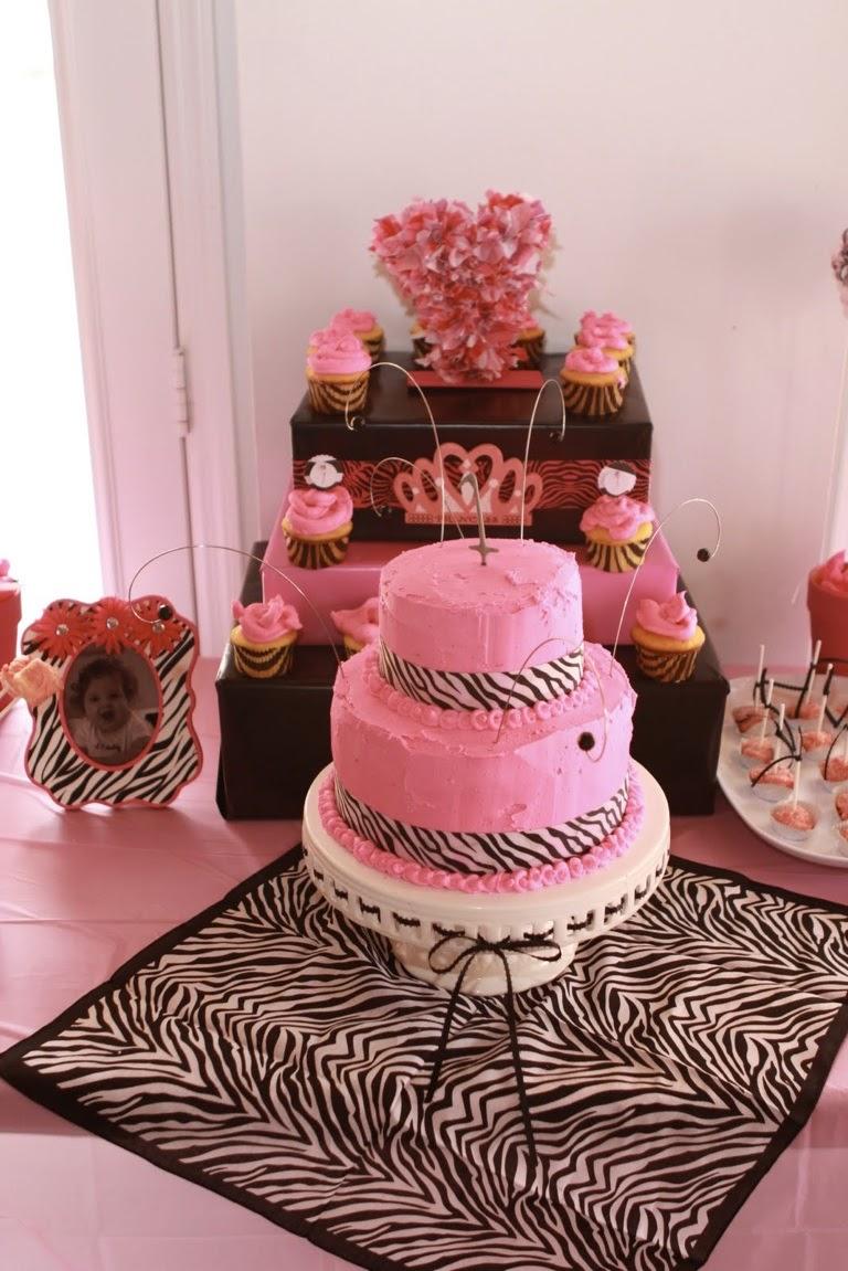 A Stylish Affair By Jessie Pink Zebra Themed First