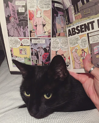 Black cats and comic books