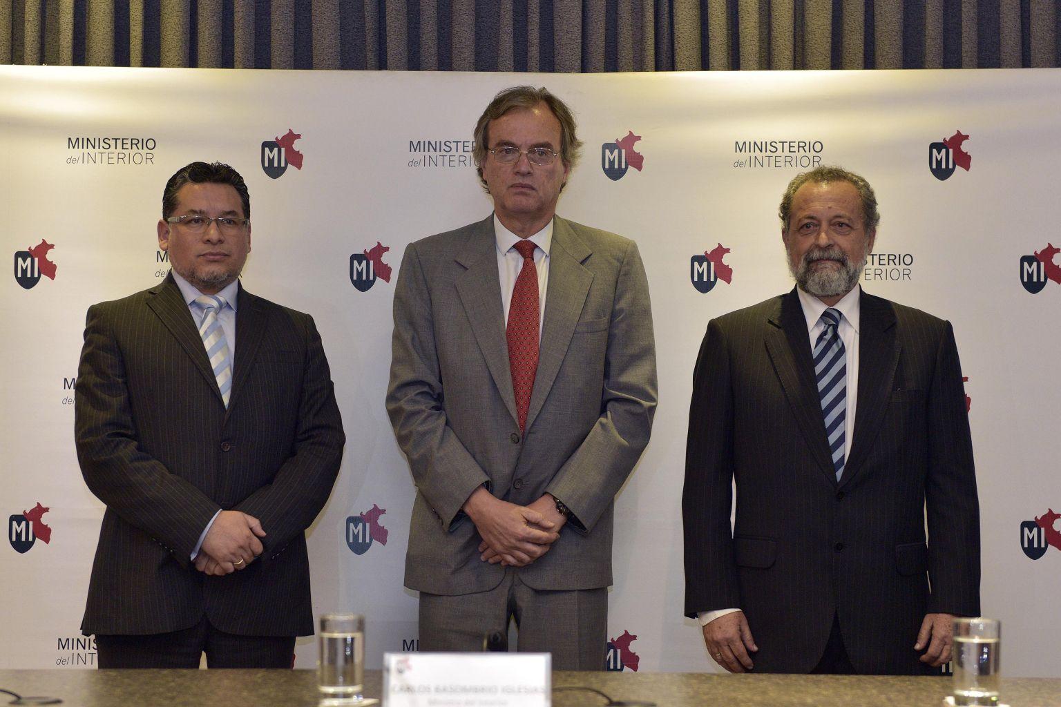 Group 10 notic as huancayo nuevos viceministros del for Ministerio del interior llamados 2016