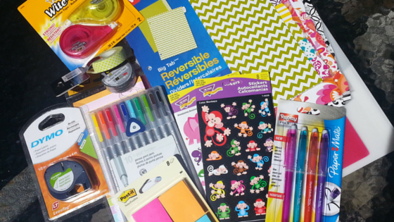 Planner Binder Supplies Organization Haul
