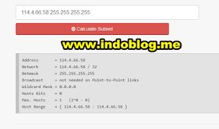 Subnet Lookup Online Scanner