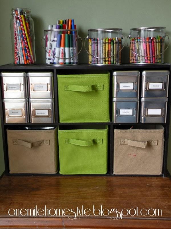 Organizing Kid S Art Supplies