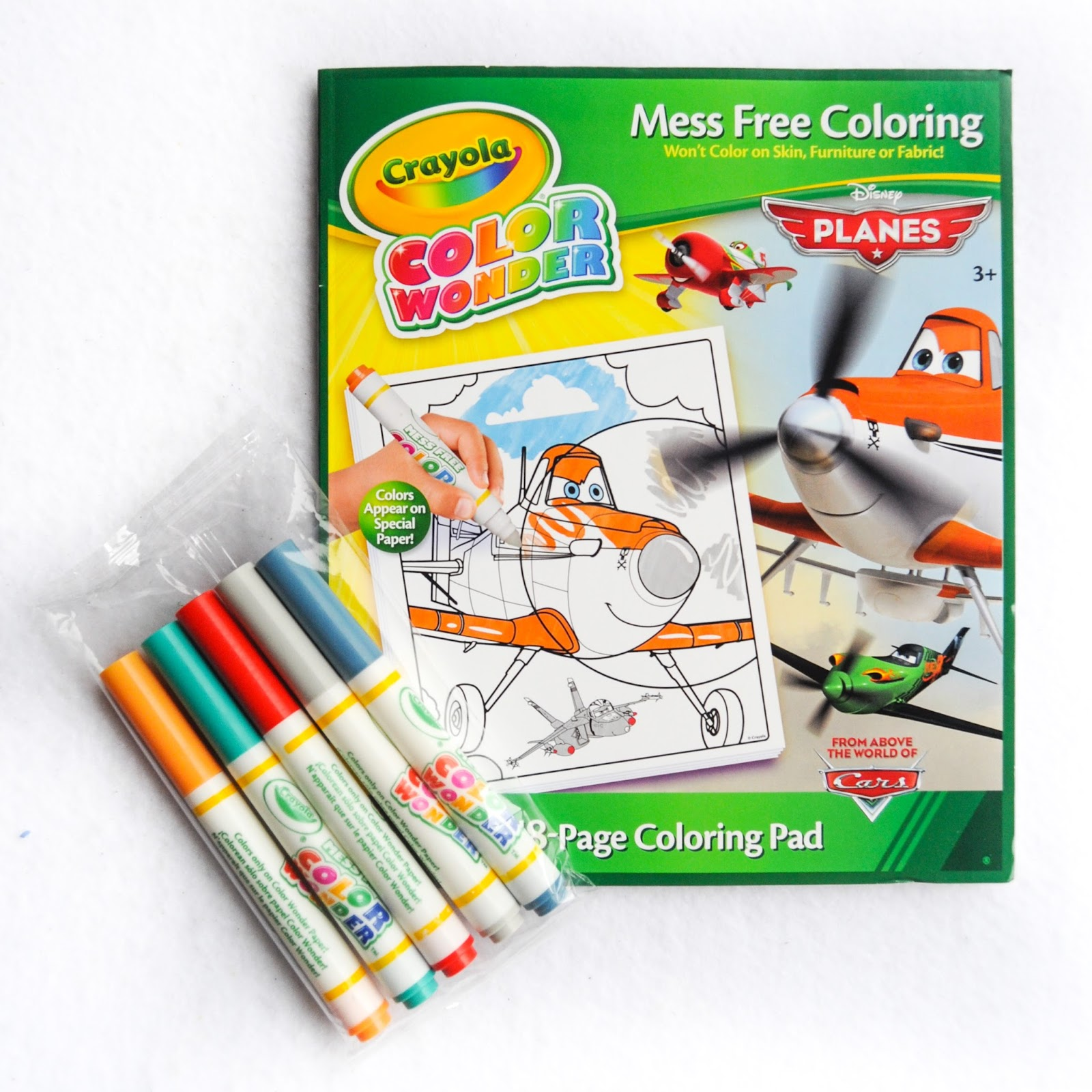 Crayola Color Wonder Planes Coloring Pad and Markers: What\'s ...