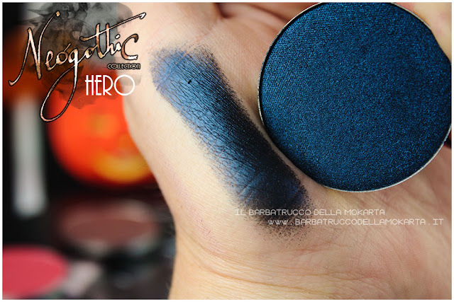 hero eyeshadow swatches neogothic collection neve cosmetics