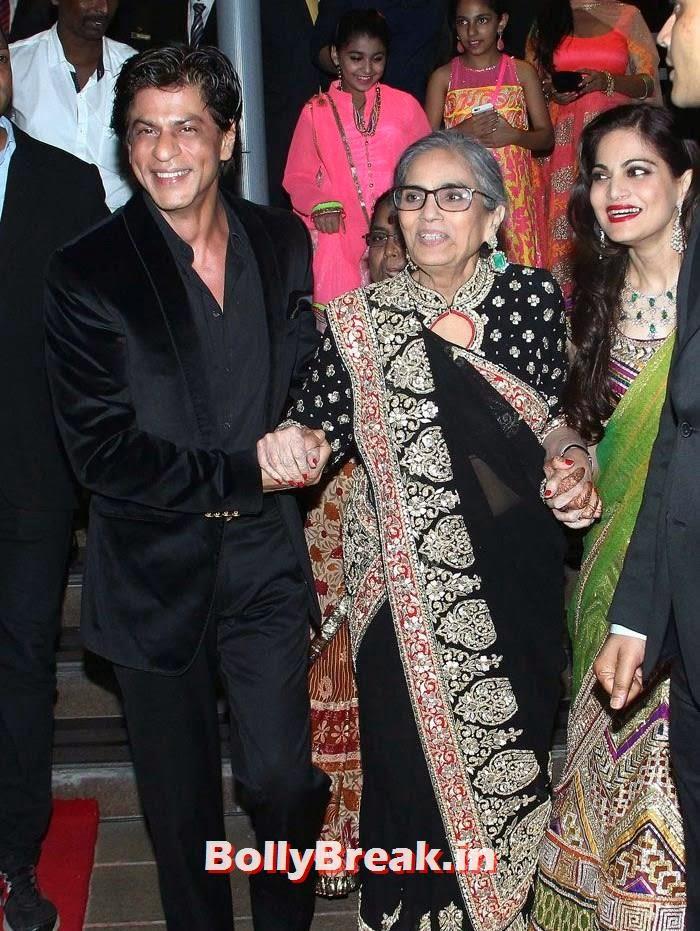 Shah Rukh Khan at Arpita Khan Wedding Reception Bash, Shah Rukh Khan at Arpita Khan Wedding Reception