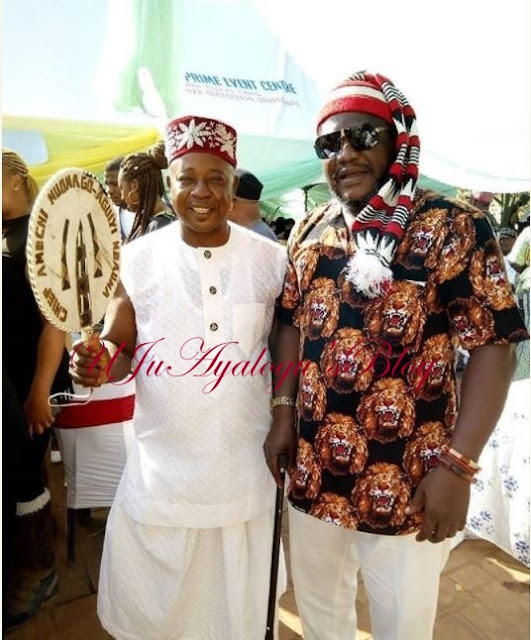 Veteran Actor, Amechi Muonagor Conferred With Chieftaincy Title (Photo)