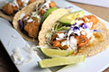 Beer Battered Artichoke Tacos with Lime Crema