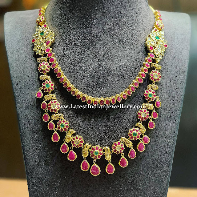 2 Tier Ruby Necklace