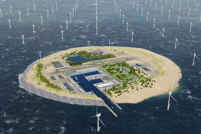 Artificial islands and 10,000 turbines: this is how to make the most of the wind for energy in northern Europe