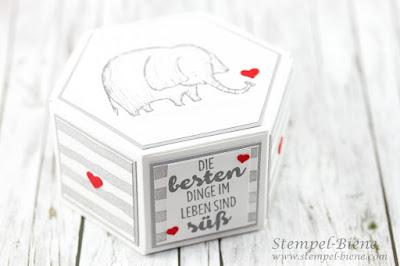 Valentinstagsgeschenk; Love You Lots; Stampinup Workshop; Stampinup Reihenweise Grüße; Valentinstag basteln