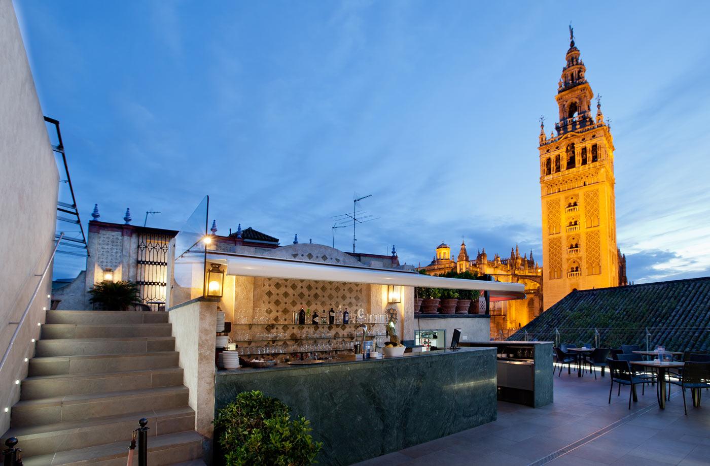 Terraza Del Hotel Doña María Unas Vistas Increíbles Do