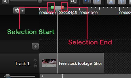 Selection-Camtasia