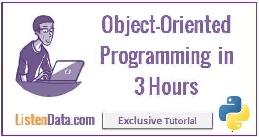 Python : Learn Object Oriented Programming in 3 Hours