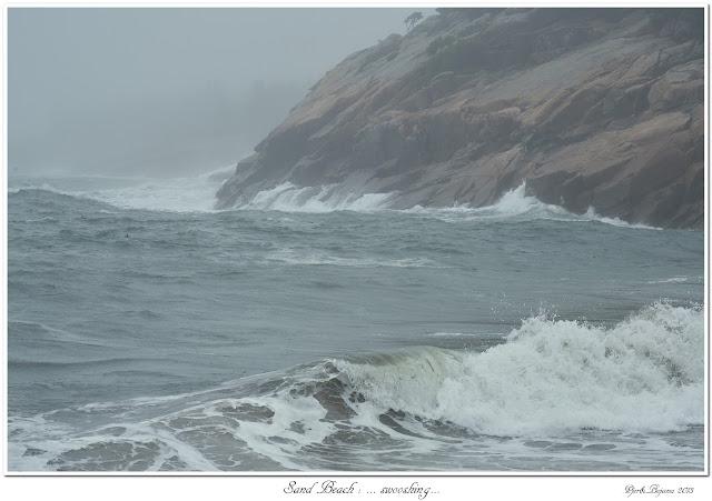 Sand Beach: ... swooshing...