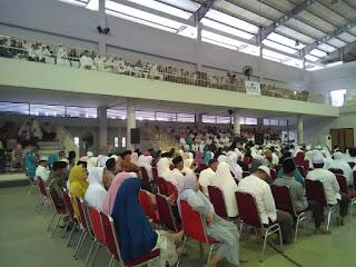 Manasik Massal Calon Jamaah Haji Kabupaten Bekasi di Gedung OSO Sport Center Grand Wisata Bekasi bersama SUSU HAJI SEHAT