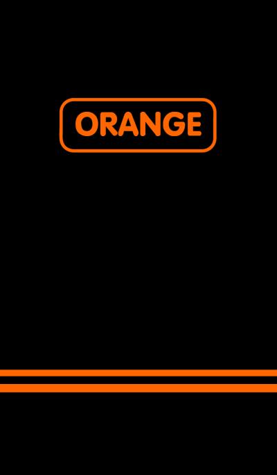 Orange & Black theme(jp)