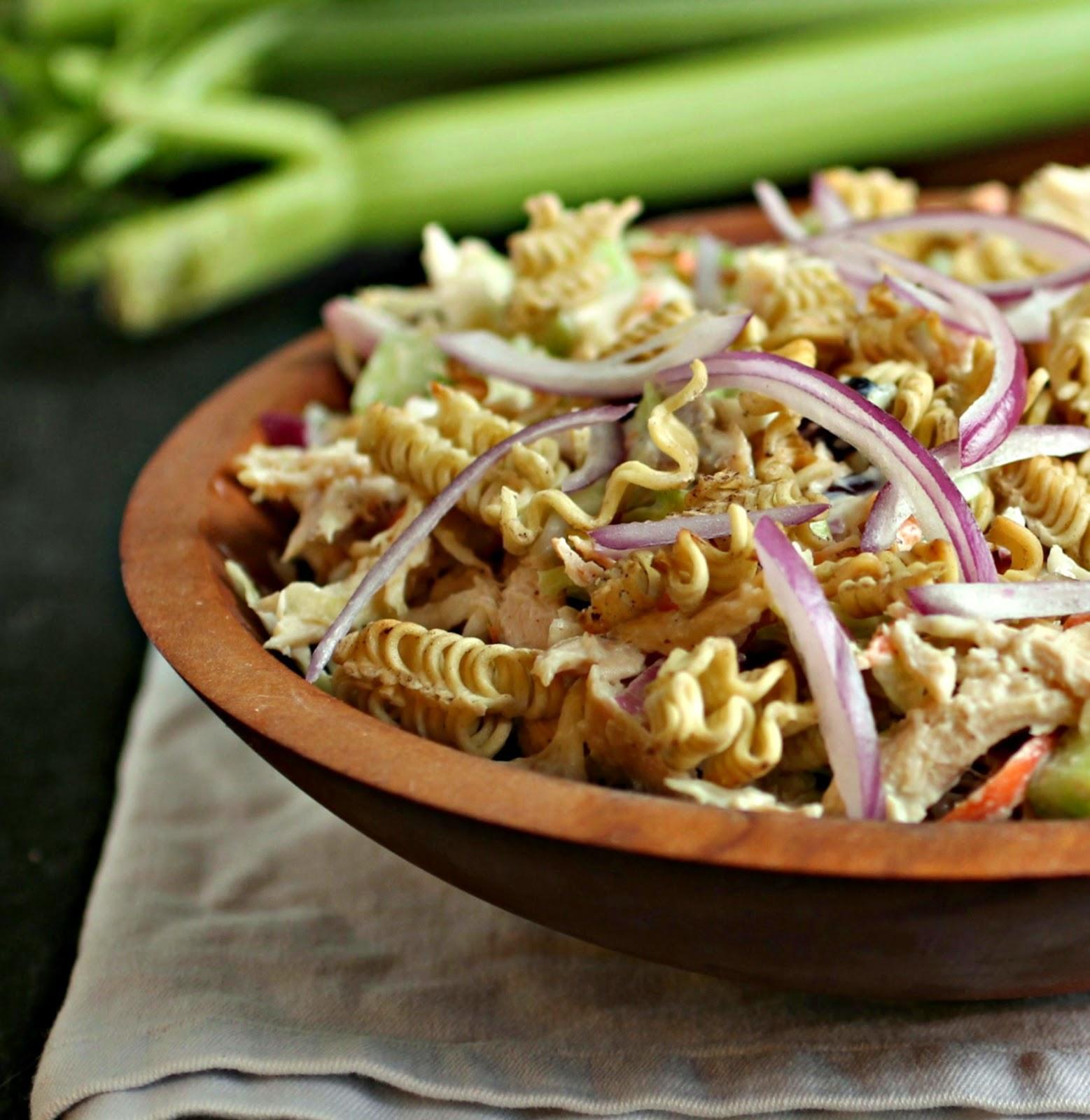 Crunchy Loaded Chicken Salad