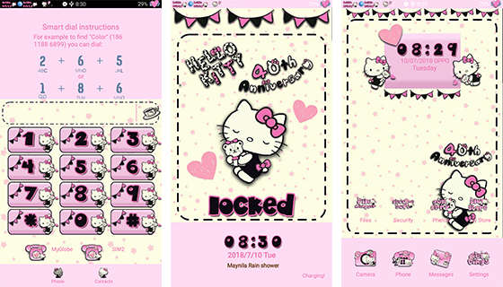 Oppo Theme: Oppo Hello Kitty Anniversary Theme