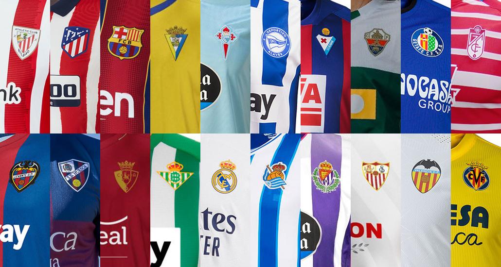 All La Liga Kits Almost All Shirts Released Footy Headlines
